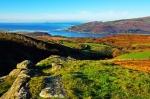 Barmouth from Pared y Cefn Hir, above Llynnau Cregennen.