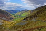 Looking south-west along the Dyfi Valley, near Bwlch y Groes