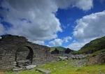 The long since abandoned quarry buildings at Rhosydd, Blaenau Ffestiniog