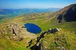 The view north from Llyn y Gadair, Cadair Idris