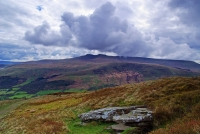 22.PYF and Corn Du beneath dramatic skies from CCGleisiad