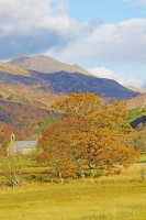 Looking back towards Beddgelert, N. Wales