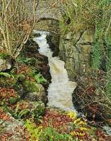 The Taf Fechan river at Pontsarn, nr Merthyr Tydfil