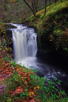 An un-named waterfall on the Nedd Fechan river